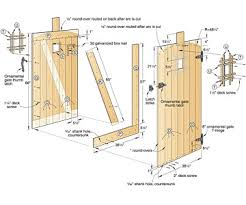 Small Picture How To Build A Garden Gate Home Design Ideas