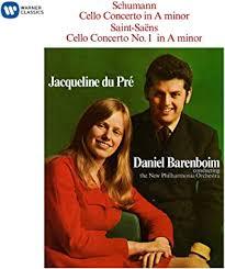 <b>Jacqueline du Pré</b> - <b>Schumann</b>: Cello Concerto / Saint-Sans: Cello ...