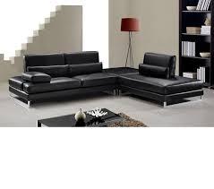 sofas modern black leather modern black s dreamfurniturecom tango modern black leather sectional black sofa set office