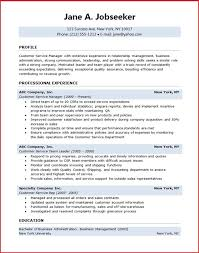 customer service resume templates   free word  excel  pdfcustomer service manager resume sample office
