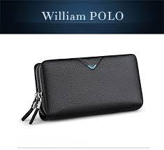 <b>WILLIAMPOLO 2019</b> New Arrival Men <b>Fashion</b> 100% Real Leather ...