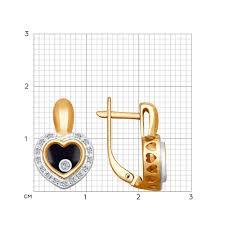 <b>Серьги</b> из комбинированного <b>золота</b> SOKOLOV – купить в ...