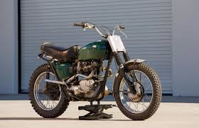 Finally  there     s a second McQueen bike at the Bonhams auction     a      Triumph Bonneville Desert Sled ridden extensively by Steve McQueen  modified by his     The Blog