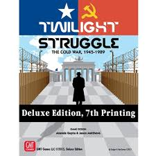 Twilight Struggle Deluxe Edition, 7th Printing - GMT Games