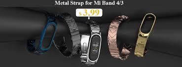 <b>Mijobs Mi Band 3</b> Strap Silicone Wrist Strap for Xiaomi Mi Band 4 3 ...