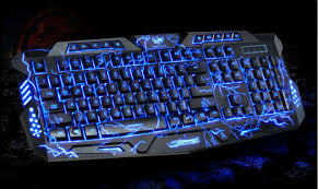 Online Shop <b>KuWfi</b> Three-Colors Wired Keyboard and Mouse Set ...