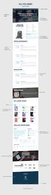 proresume cv lance responsive resume by mustachethemes resume template on themeforest
