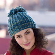 <b>Curly</b> Q | Free Knit Patterns | Yarnspirations