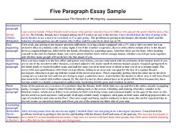 college essay writing samples
