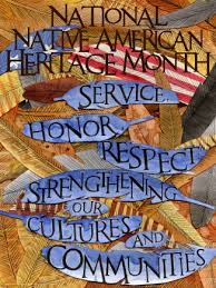Image result for native american heritage month