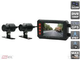 <b>Двухканальный видеорегистратор AVS540DVR</b> для мотоц купить ...