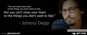 Johnny Depp Famous Quotes. QuotesGram via Relatably.com