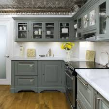 cabinets grey paint traditional kitchen design idea with white marble countertop also gray
