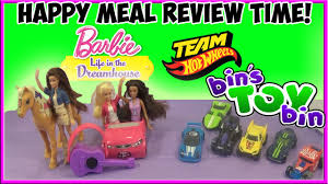 barbie team hot wheels 2015 full set happy meal review time barbie team hot wheels 2015 full set happy meal review time shout outs by bin s toy bin