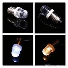 E10 Light Bulbs <b>DC 6V 12V 24V</b> LED Screw Base Indicator Bulb ...