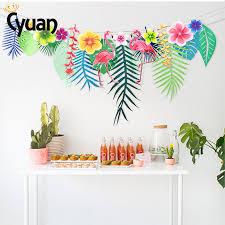 <b>Summer</b> Beach Birthday <b>Party Decor</b> Flamingo Pineapple Paper ...