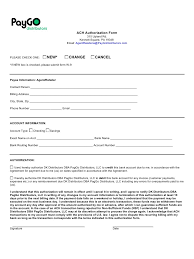 microsoft word ach authorization form doc ach pdf i understand that this authorization will remain in effect until i cancel it in writing and i agree to notify dk distributors dba