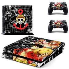 <b>HOMEREALLY Stickers</b> Anime One Piece Vinyl Cover <b>Decal PS4</b> ...