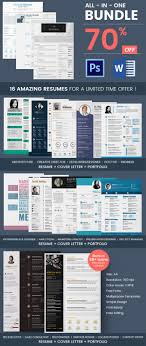 creative resume template 81 samples examples format 16 resume bundle