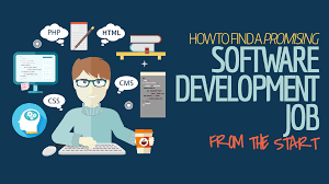 how to a promising software development job from the start