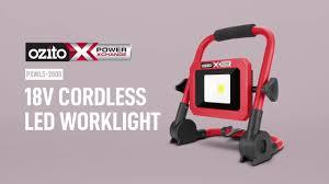 PXC 18V <b>Cordless LED Worklight</b> - YouTube