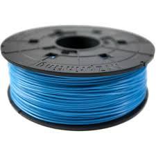 Купить <b>пластик ABS</b> в катушке, cyan (<b>голубой</b>), 1,75 мм/600гр в ...