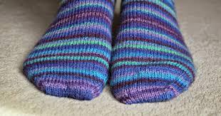 Basic 4ply <b>sock</b> pattern and tutorial - easy beginner <b>sock</b> knitting ...