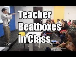Teacher Beatboxes in Class - Maxmantv - YouTube