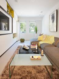 narrow living room saveemail ffbf  w h b p modern family room