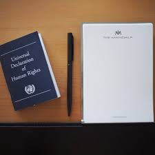 this german hotel is stocking rooms the universal declaration this german hotel is stocking rooms the universal declaration of human rights instead of the traditional bible and that s actually pretty cool