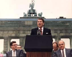 President Reagan's Berlin Wall