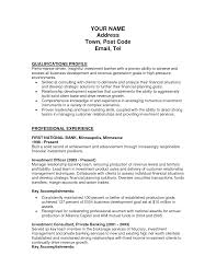 resume cover letter investment banking new wealth management sample resume website resume template investment banking