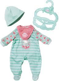 <b>Zapf</b> Creation Одежда для <b>куклы My first</b> Baby Annabell