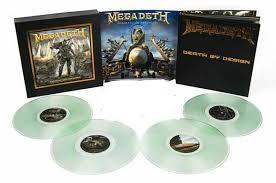 <b>Megadeth</b>: Death By Design Graphic Novel w/ 4 coke bottle colored ...