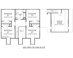 images about     Story House Plans on Pinterest   House    Traditional house plan   bedrooms and baths  Two story Foyer  Master Suite downstairs    four bedrooms upstairs