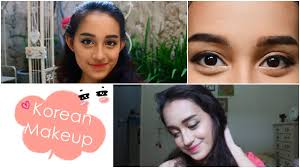 korean style makeup puppy eye look tutorial