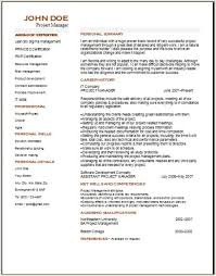 project manager cover letter example project manager cv template