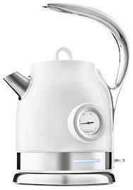 Купить <b>Чайник Kitfort KT</b>-<b>694</b>-<b>1</b>, белый по низкой цене с ...