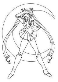 Small Picture Free Sailor Moon Coloring Pages Art Pinterest Sailor moon