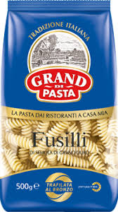 <b>Макароны GRAND DI PASTA</b> Fusilli Спираль гр.А в/с – купить в ...