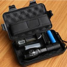 <b>LED</b> Tactical <b>Flashlight USB Rechargeable 8000 Lumens</b> T6+COB ...
