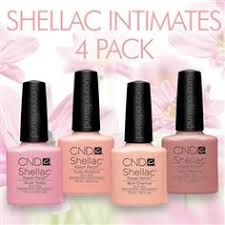In Stock! <b>CND Shellac</b> 2013 <b>Intimates</b> Collection