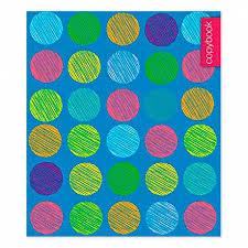<b>Тетрадь</b> 48л клетка <b>Цветные</b> круги С2242-93 <b>Апплика</b>