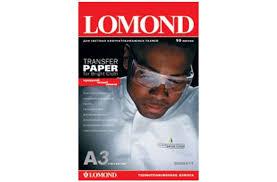 <b>Бумага LOMOND</b> Transfer <b>Paper</b> for bright cloth <b>A3</b>, 140г/м2, 50 ...