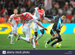 th apr french league football as as versus olympique marseille tiemoue bakayoko asm slides in on michy batshuayi om credit action plus sports live news
