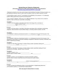 examples of resumes example resume top objectives for an a  79 exciting an example of a resume examples resumes