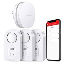 Govee <b>WiFi Water Alarm</b>, Smart APP <b>Leak</b> Alert, Wireless <b>Water</b> ...