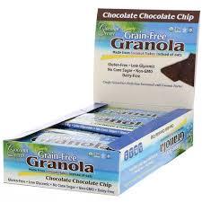 Coconut Secret Chocolate Chip <b>Crunchy Grain Free Granola Bar</b>