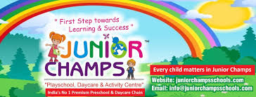 junior champs play school s premium preschool daycare chain for franchise call us no 7065690616