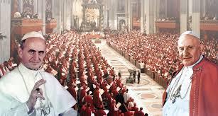 Resultado de imagen para imagenes del concilio vaticano 2